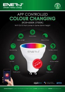 Ener-jColour Changing Bulb